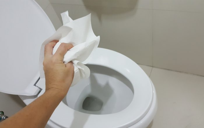 Can I flush something other than toilet paper?